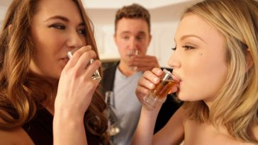 Nubile Films Dakota Skye & Samantha Hayes in After Party 18