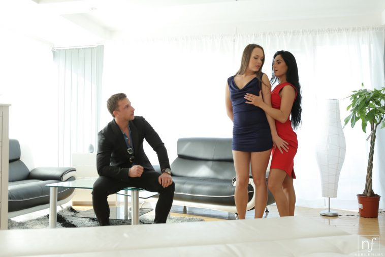 Angel mindy threesome