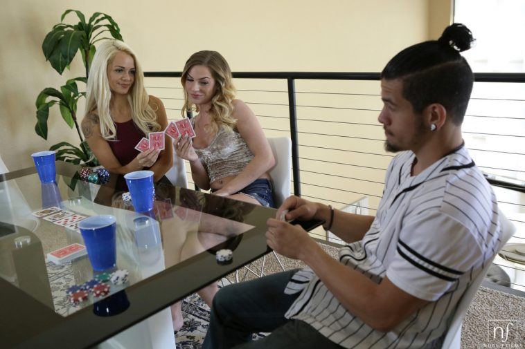 Elsa Jean & Sydney Cole in Ante Up 1